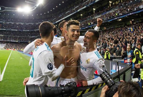 Liga de Campeones: Cristiano Ronaldo clasifica al Real Madrid con un penalti en el minuto 97