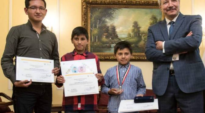 Egipto promueve el arte en niños ecuatorianos