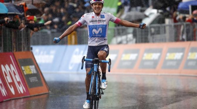 Una lesión casi deja fuera a Richard Carapaz del Giro de Italia