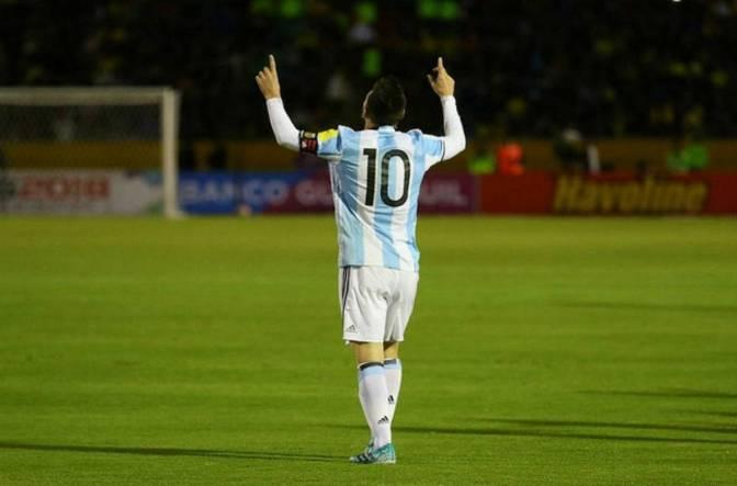 Messi lidera la lista de la selección Argentina