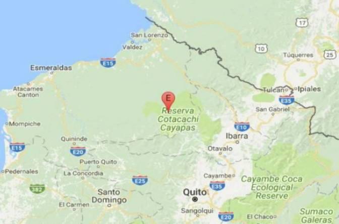 Dos estudiantes heridos, dos escuelas y un centro médico afectados por sismo en Cotacachi