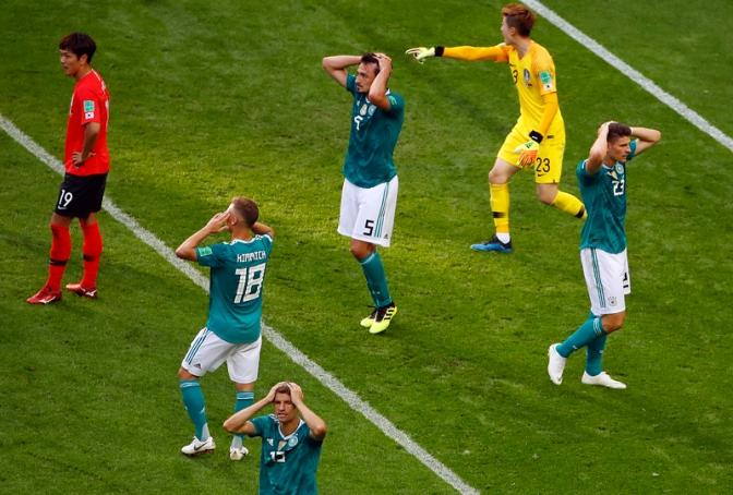 Corea del Sur elimina al campeón Alemania