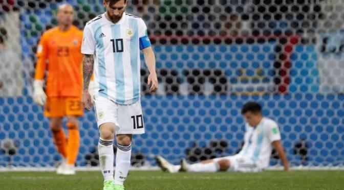 Rusia 2018: Argentina, al borde de la eliminación