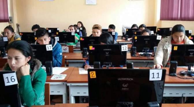 245.261 estudiantes rendirán la prueba Ser Bachiller