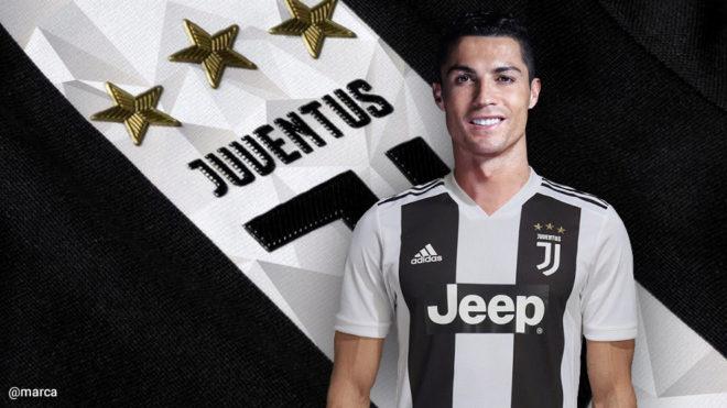 Juventus de Italia contrata a Cristiano Ronaldo por 100 millones