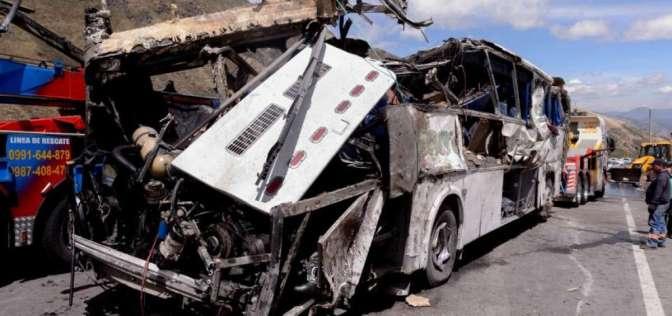 Organizadora de narcobus pidió disculpas por 24 muertes