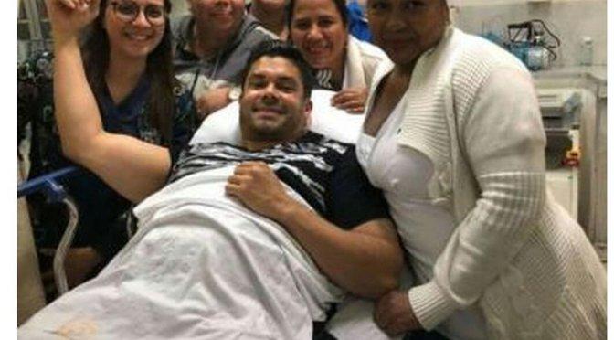 Jerry Rivera hospitalizado en Guayaquil tras caída