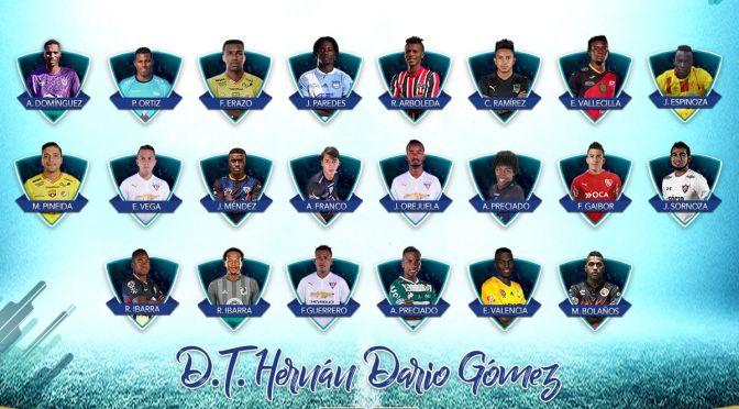 22 jugadores convocados a la selección