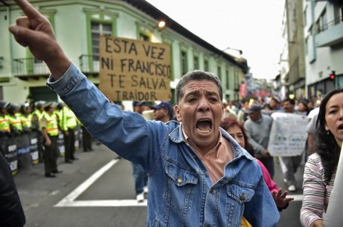 Anuncian movilizaciones para rechazar medidas económicas del gobierno