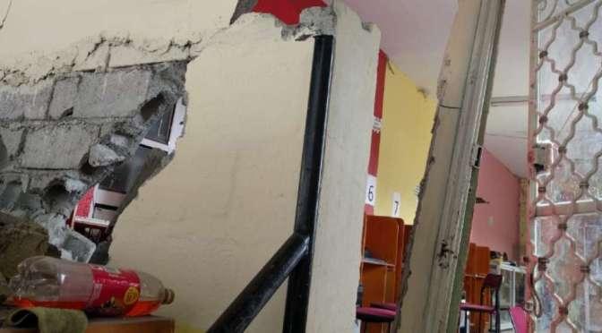 16 familias dejaron sus casas luego del sismo de 6,2 en Chimborazo