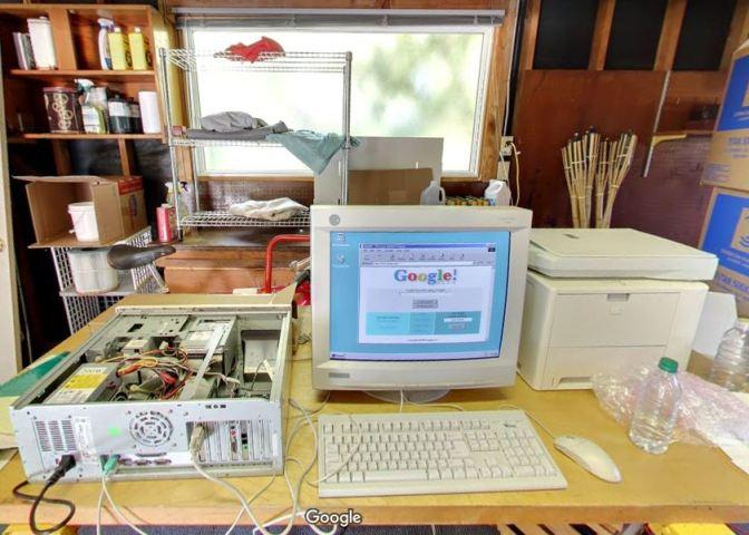 Así era el garaje donde nació Google en 1998