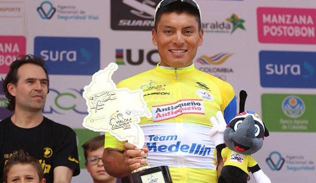 Jonathan Caicedo es el tercer ciclista ecuatoriano en el Tour Mundial