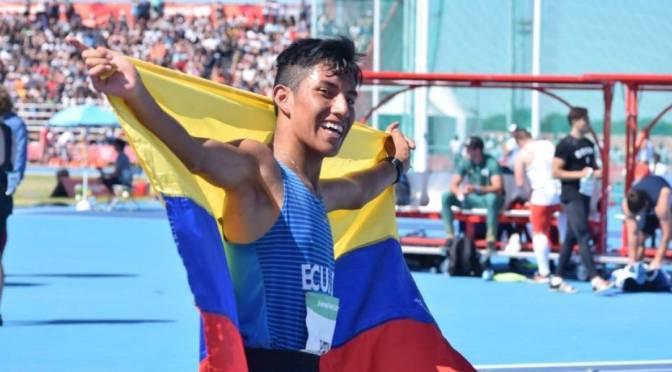 Ecuador logra histórica medalla olímpica de la juventud