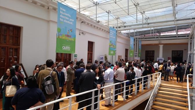 En Quito se efectuó el debate mundial del Hábitat III+2