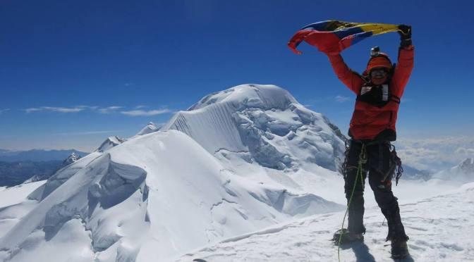 Santiago Quintero subirá al Chimborazo en un día