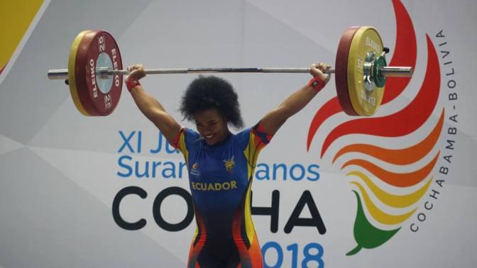 La ecuatoriana Tamara Salazar logra plata en el Mundial de Halterofilia