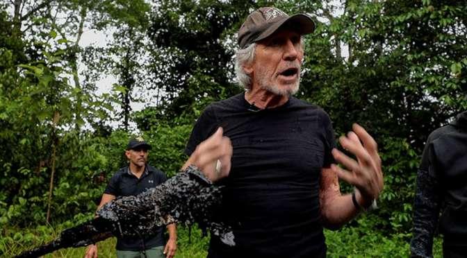 "Roger Waters ""orgulloso"" de la lucha de Ecuador contra Chevron"