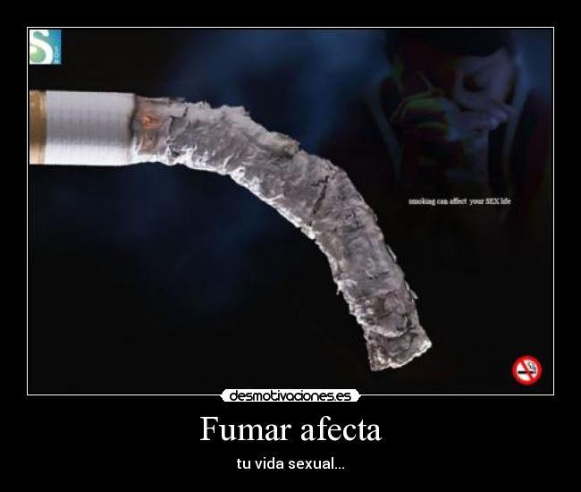El tabaco también afecta a la concepción