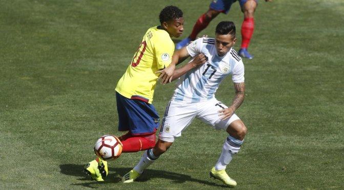 Ecuador sigue líder en el grupo B del Sudamericano Sub-20