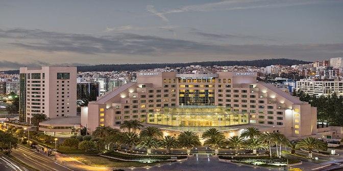 JW Marriott Quito reconocido como uno de los 10 mejores hoteles de Ecuador