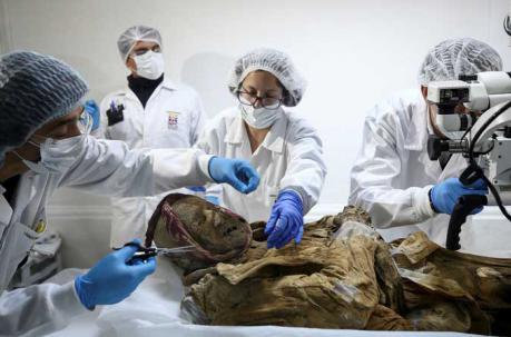 La Momia de Guano podría ser el eslabón perdido de enfermedad antigua