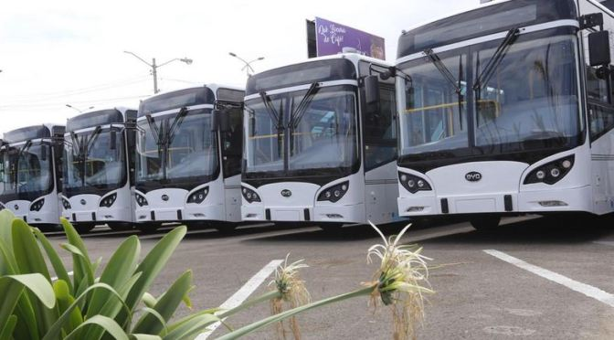 Transporte eléctrico chino llega a Ecuador