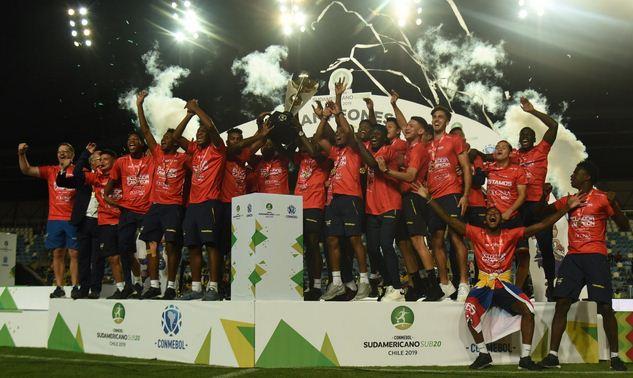 Ecuador es el campeón Sudamericano Sub 20