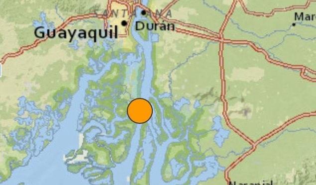 Sismo del 4 de febrero fue de 5.8 grados con epicentro al sur de Durán, según USGS
