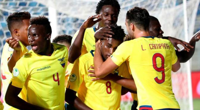 Ecuador podría ser campeón del Sudamericano Sub-20