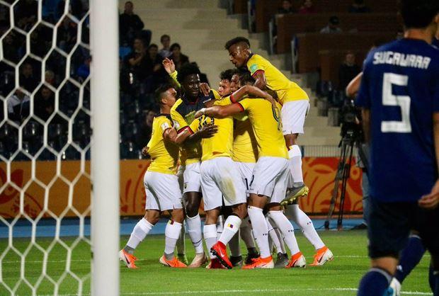 Ecuador empata ante Japón en el debut del Mundial Sub-20