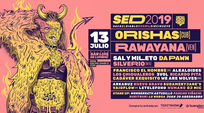 Activa la pulsera del festival SACA EL DIABLO 2019