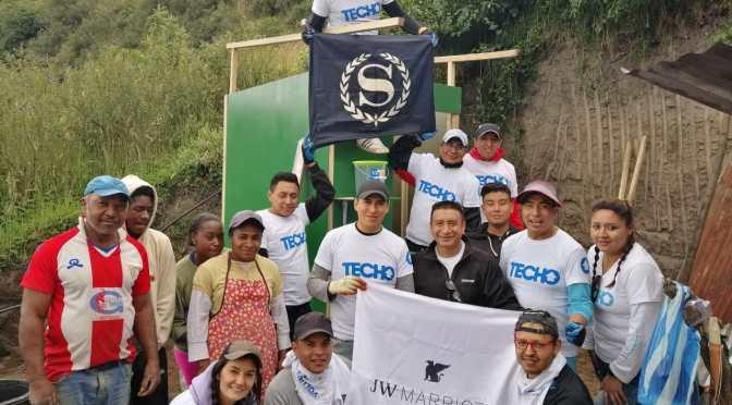 JW Marriott construye baño ecológico en el sur de Quito