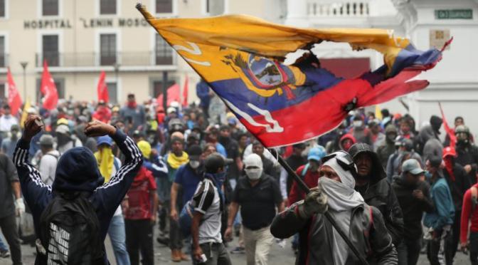 CRONOLOGÍA DEL PARO NACIONAL EN ECUADOR