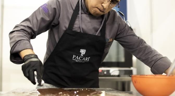 Chefs experimentaron con el chocolate Pacari en la Expo Sweet 2019