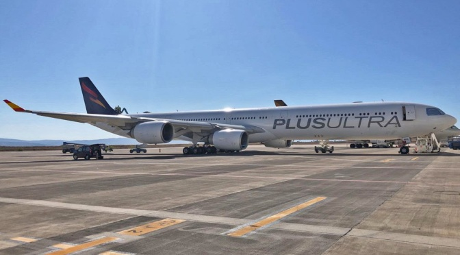 Plus Ultra Líneas Aéreas incorpora un nuevo A340-600 a su flota
